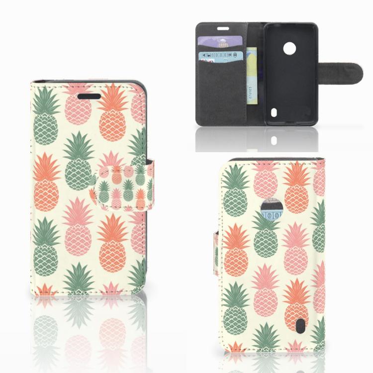 Nokia Lumia 520 Book Cover Ananas