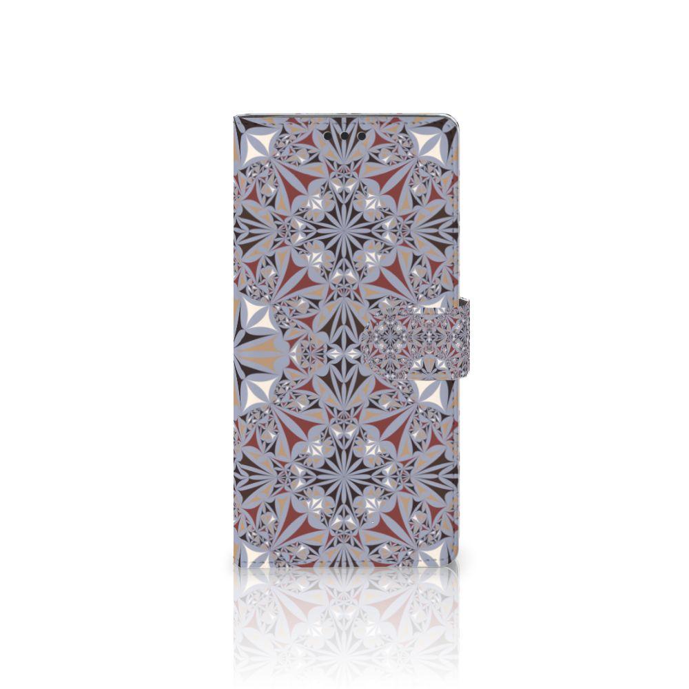 Sony Xperia XA Ultra Boekhoesje Design Flower Tiles