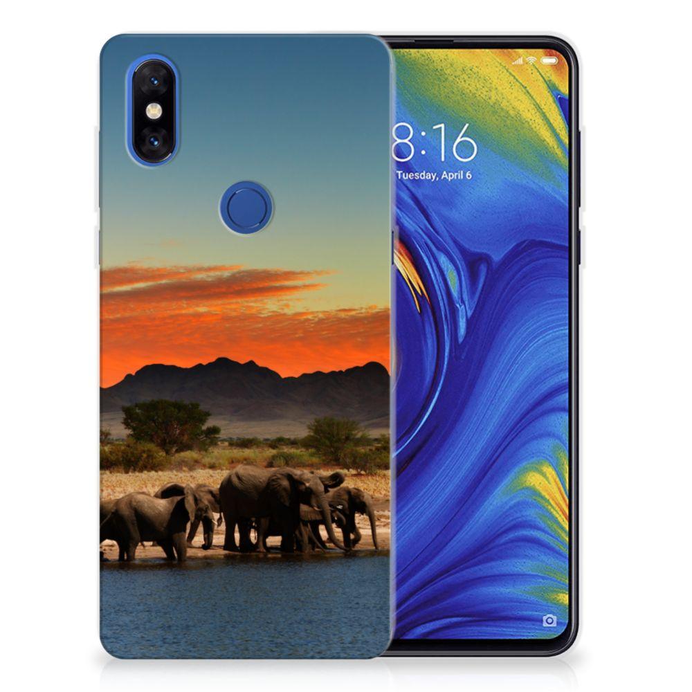 Xiaomi Mi Mix 3 TPU Hoesje Olifanten