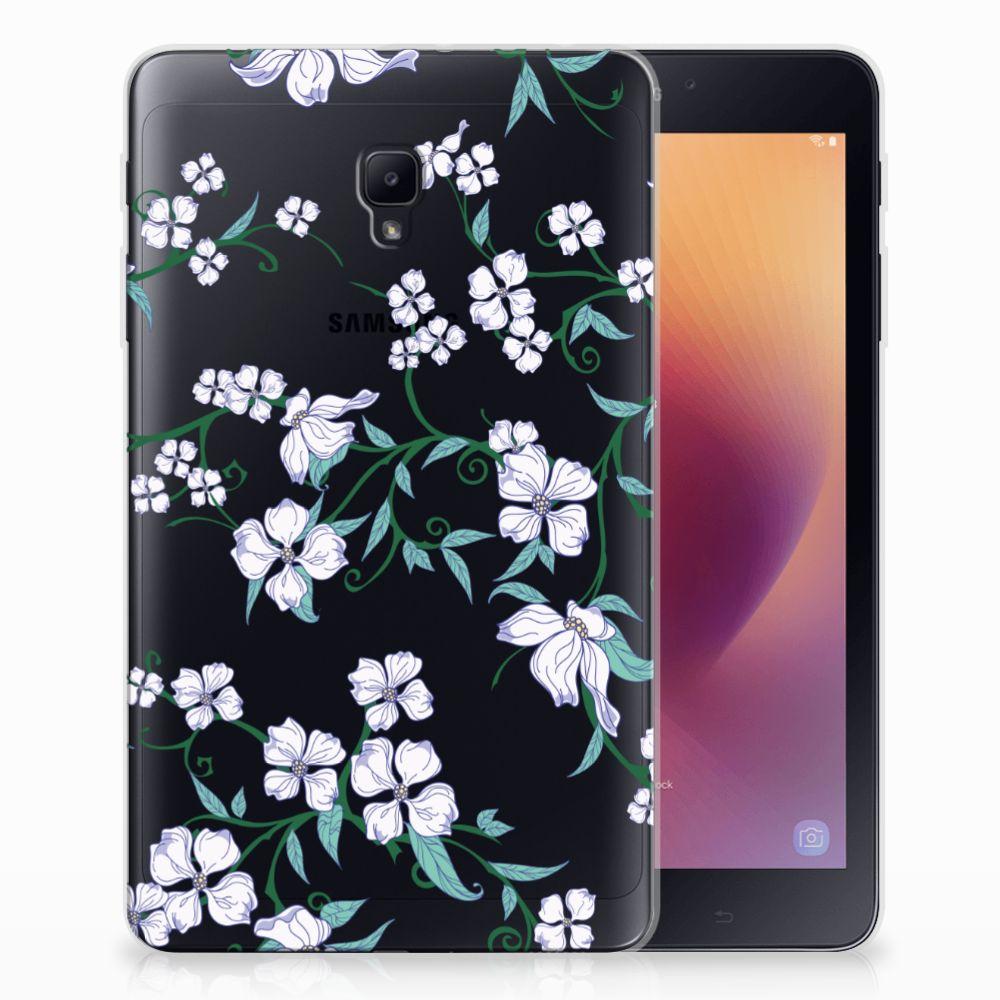 Samsung Galaxy Tab A 8.0 (2017) Uniek Tablethoesje Blossom White