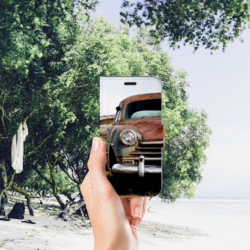 Huawei Nova Telefoonhoesje met foto Vintage Auto