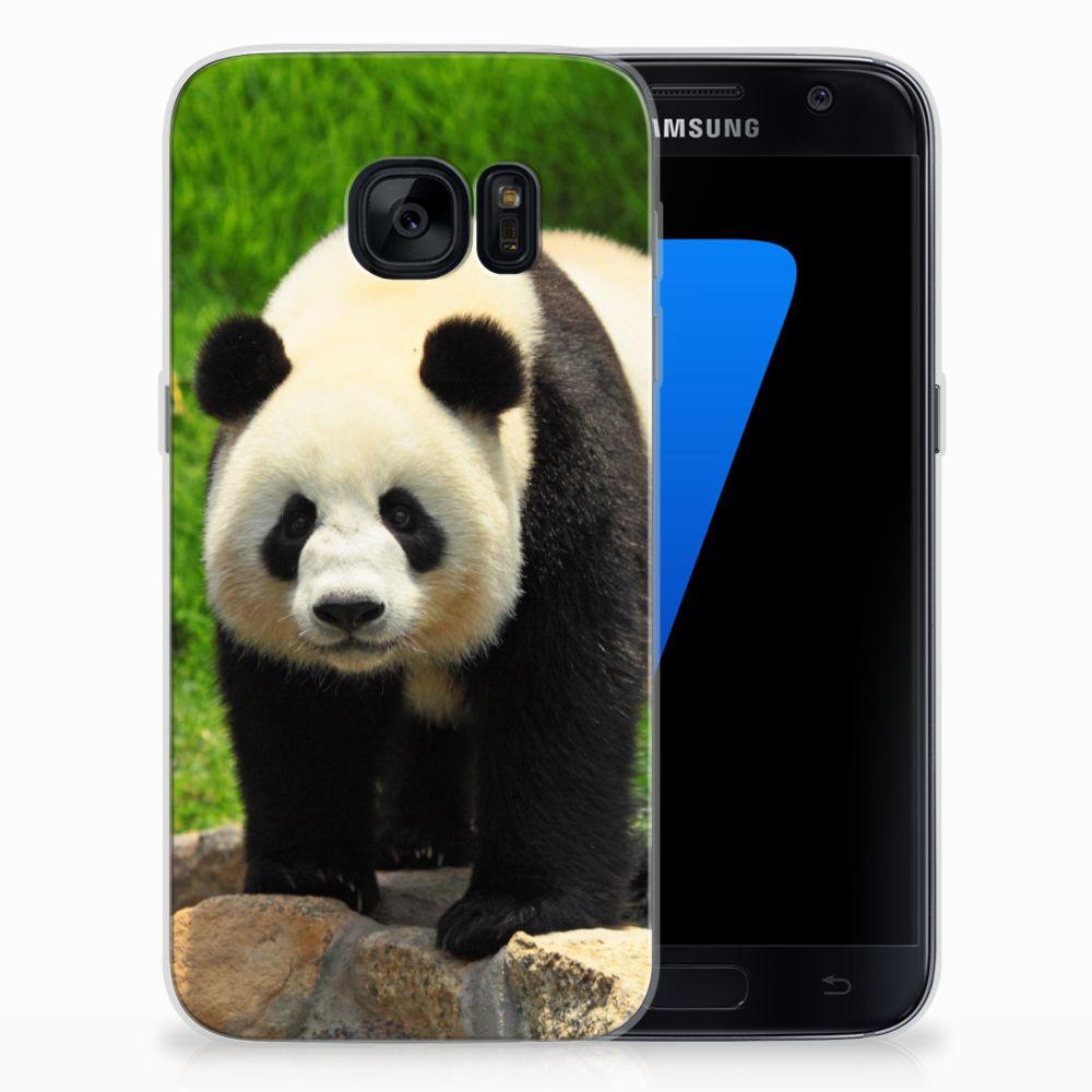 Samsung Galaxy S7 TPU Hoesje Panda