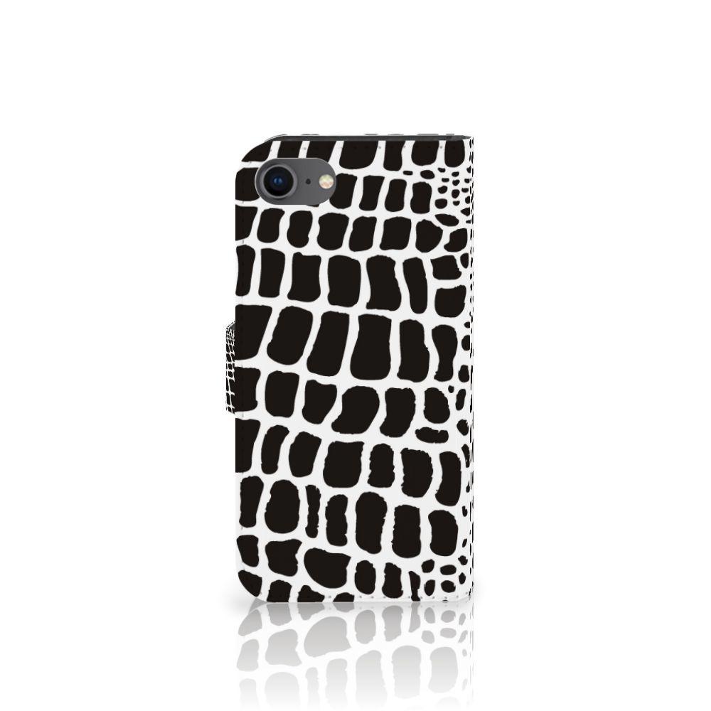 iPhone 7 | 8 | SE (2020) Telefoonhoesje met Pasjes Slangenprint
