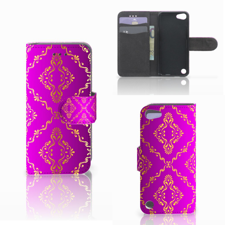 Wallet Case Apple iPod Touch 5 | 6 | iPod (2019) Barok Roze