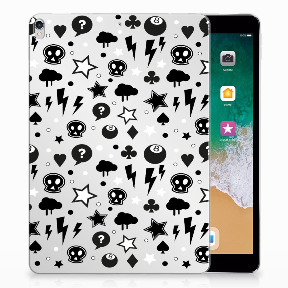 Tablet BackCover Apple iPad Pro 10.5 Silver Punk