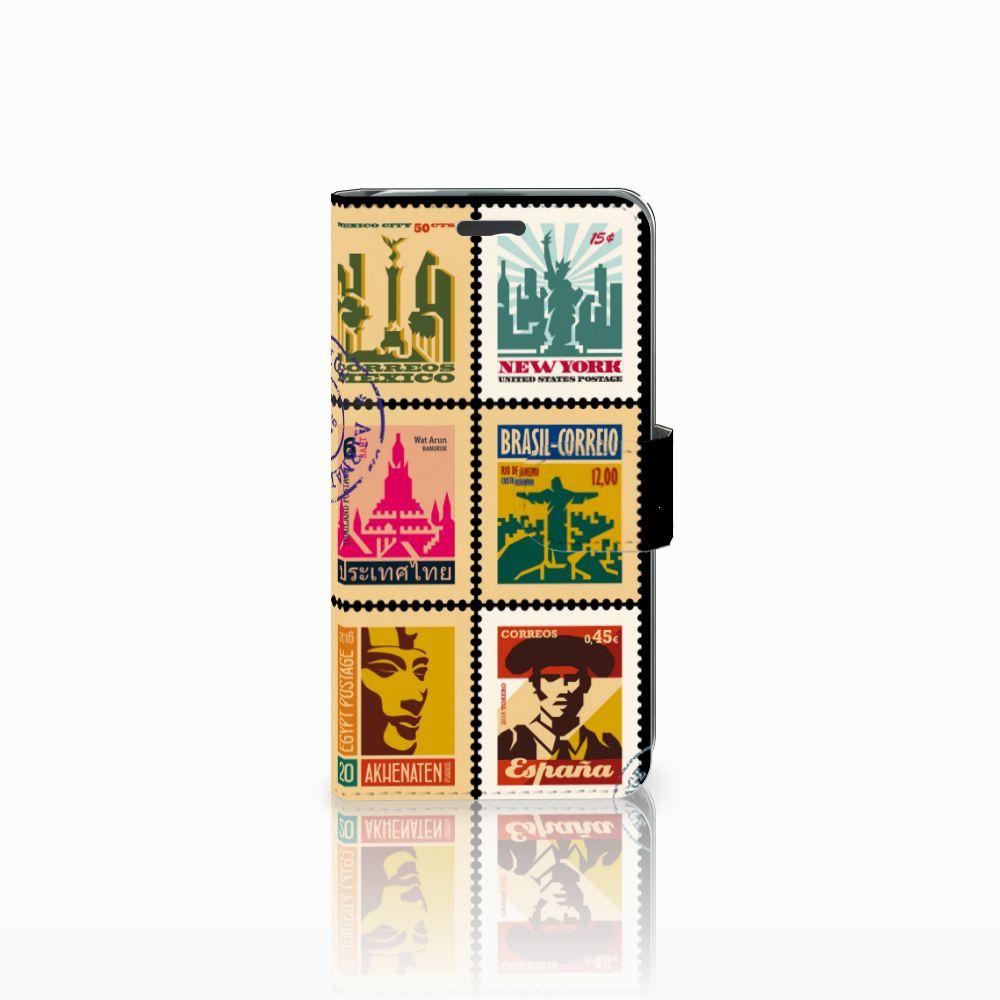 Acer Liquid Z520 Uniek Boekhoesje Postzegels