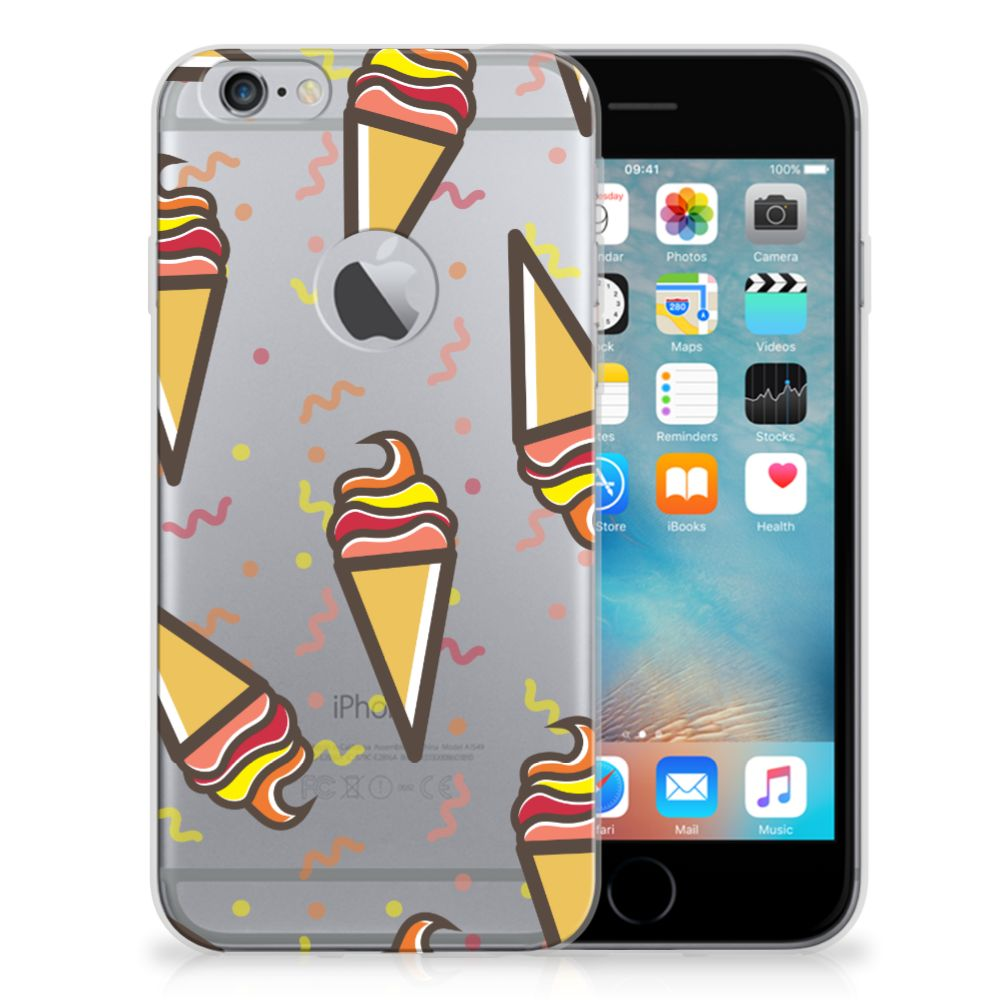 Apple iPhone 6 Plus   6s Plus Siliconen Case Icecream