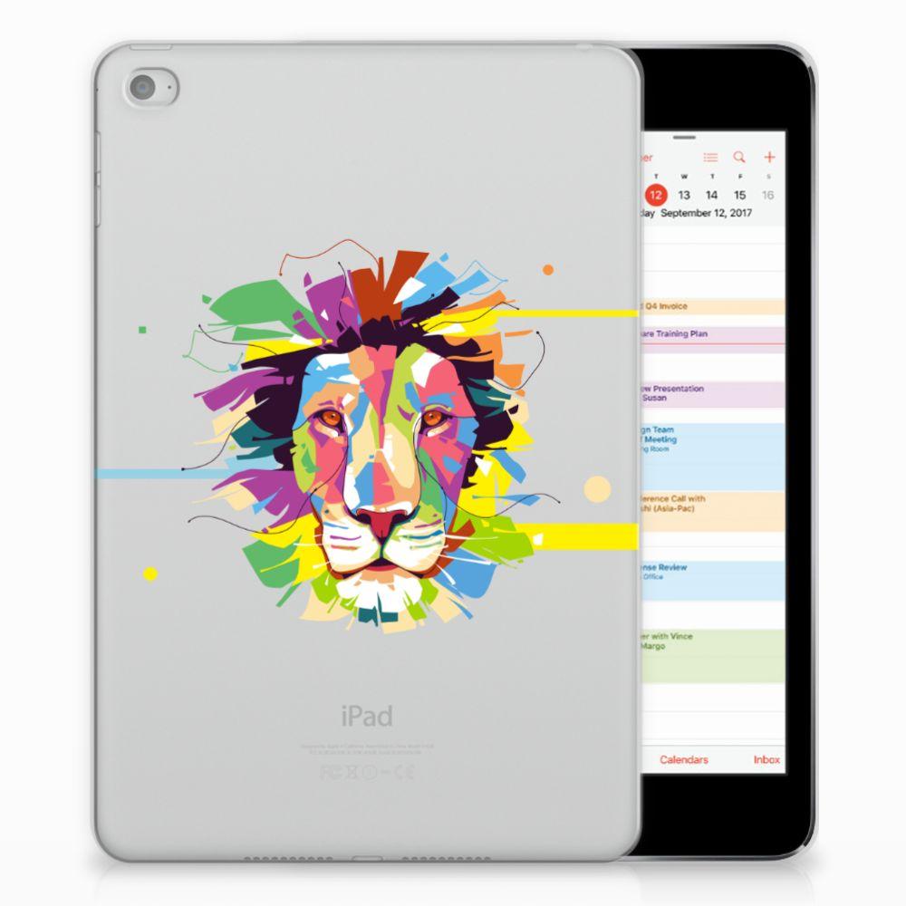 Apple iPad Mini 4 | Mini 5 (2019) Tablet Back Cover Lion Color