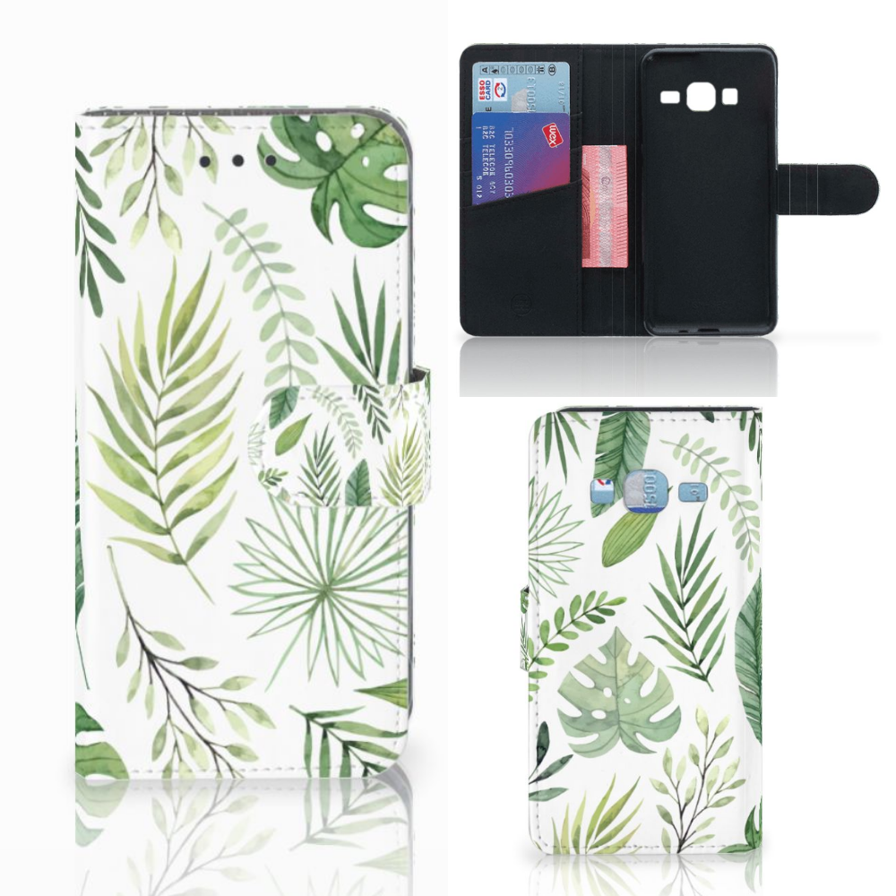 Samsung Galaxy J3 2016 Hoesje Leaves