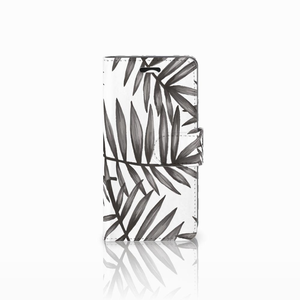 Huawei Y3 2 | Y3 II Uniek Boekhoesje Leaves Grey
