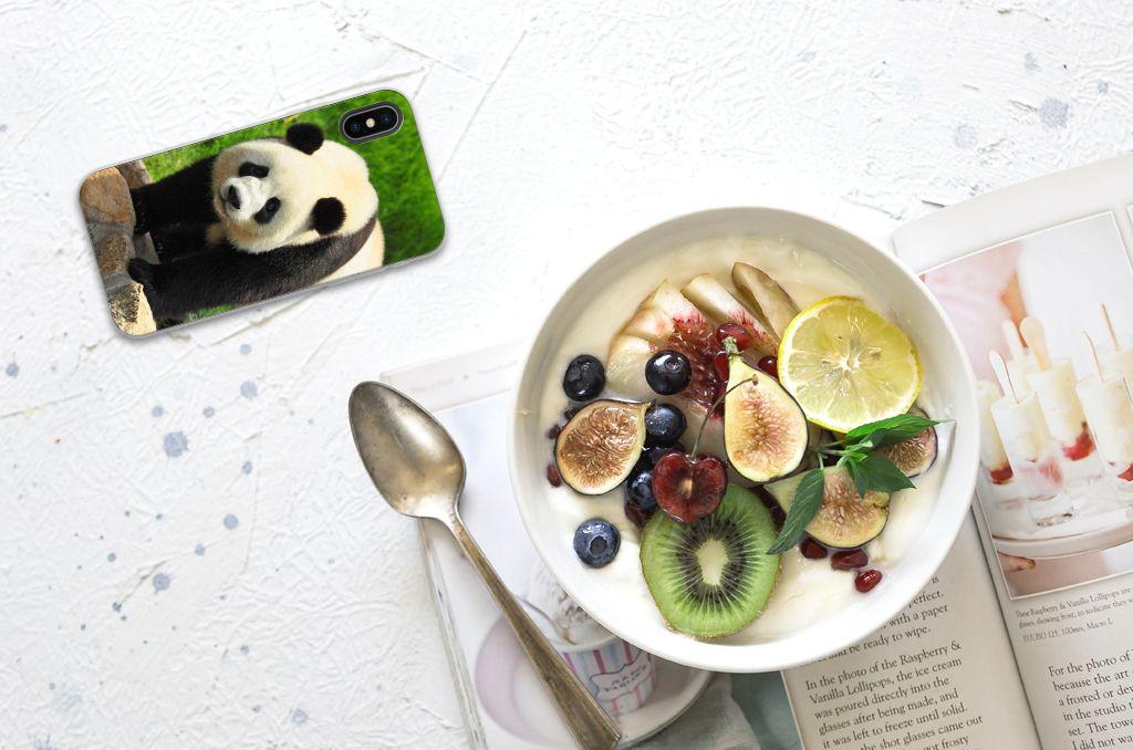 Apple iPhone X | Xs TPU Hoesje Panda