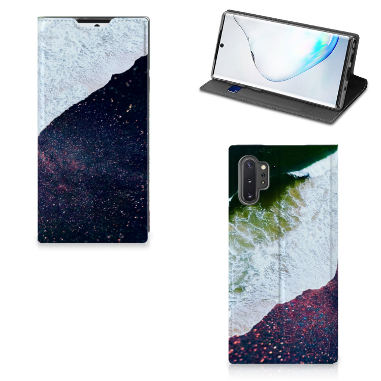 Samsung Galaxy Note 10 Plus Stand Case Sea in Space