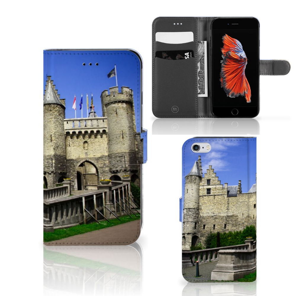 Apple iPhone 6 Plus | 6s Plus Flip Cover Kasteel