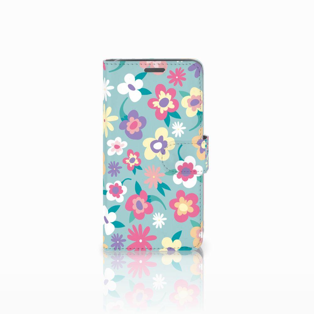 Wiko Rainbow Jam Boekhoesje Design Flower Power
