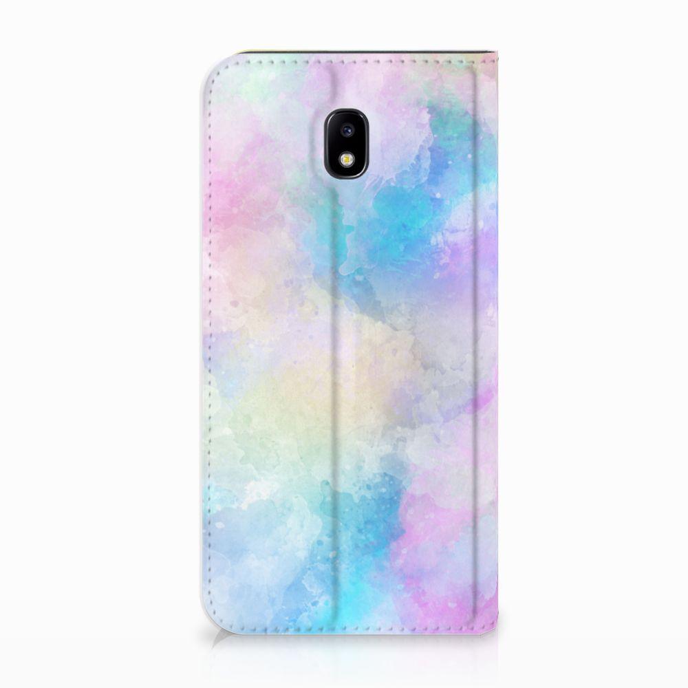 Samsung Galaxy J5 2017 Uniek Standcase Hoesje Watercolor Light