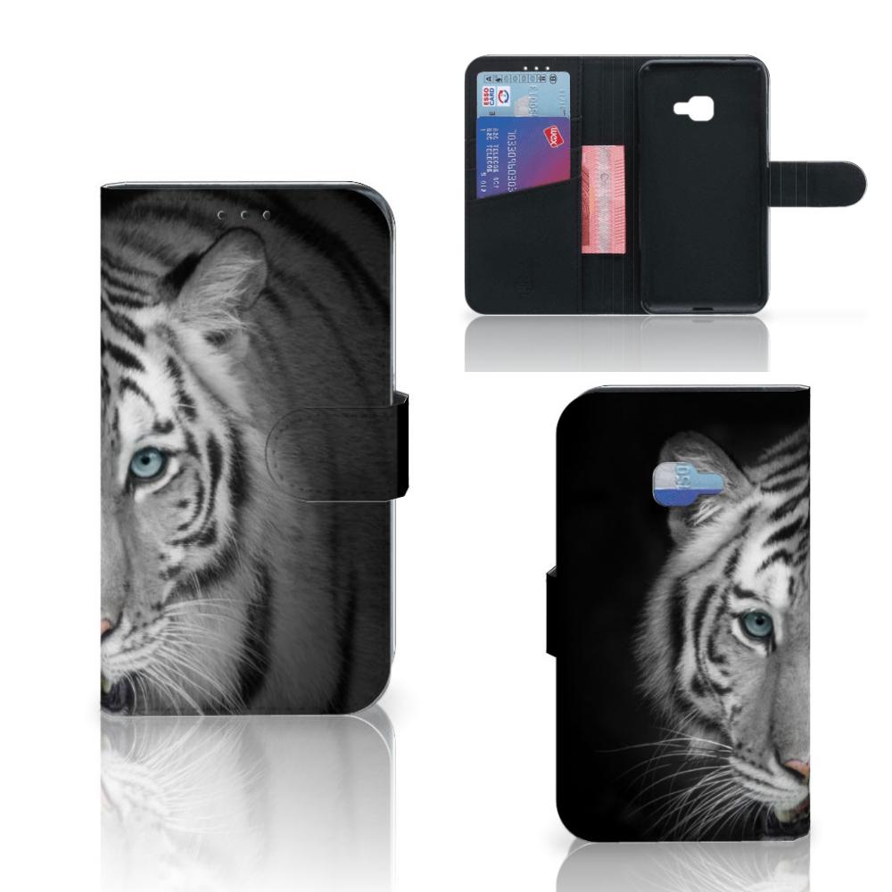 Samsung Galaxy Xcover 4 | Xcover 4s Telefoonhoesje met Pasjes Tijger