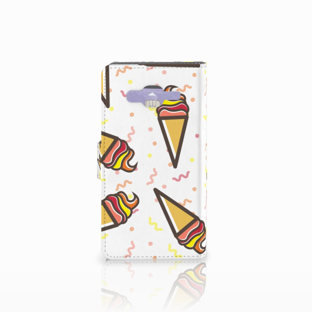 Samsung Galaxy J5 (2015) Book Cover Icecream