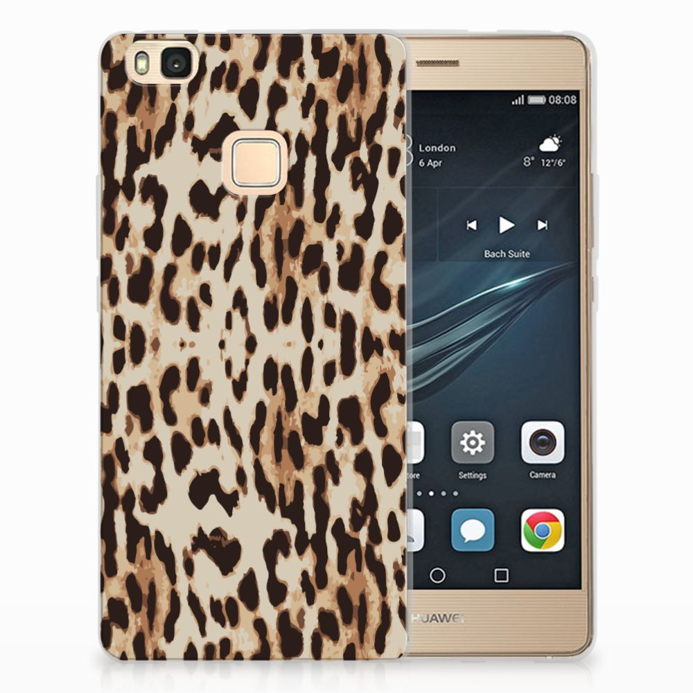 Huawei P9 Lite Uniek TPU Hoesje Leopard