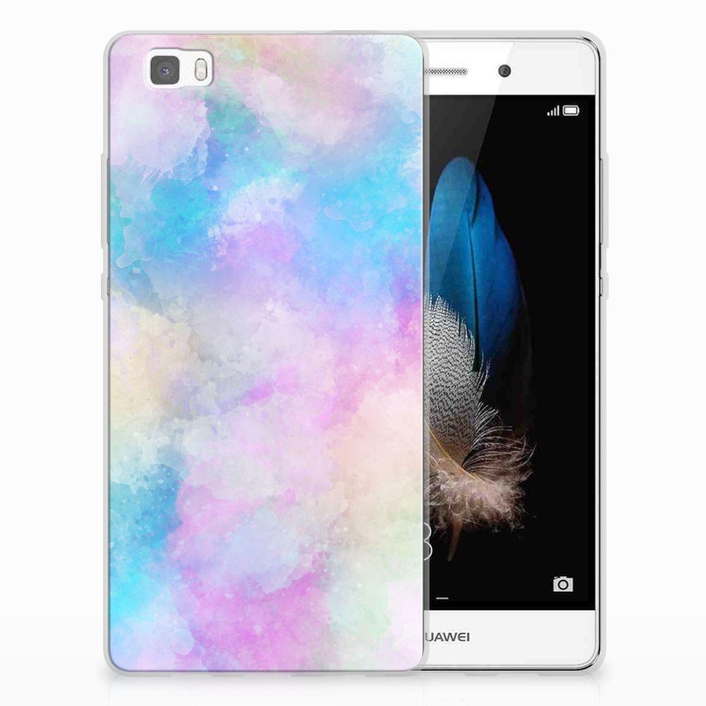 Hoesje maken Huawei Ascend P8 Lite Watercolor Light
