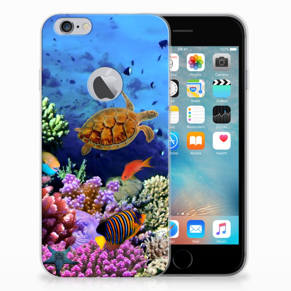 Apple iPhone 6 Plus | 6s Plus TPU Hoesje Design Vissen