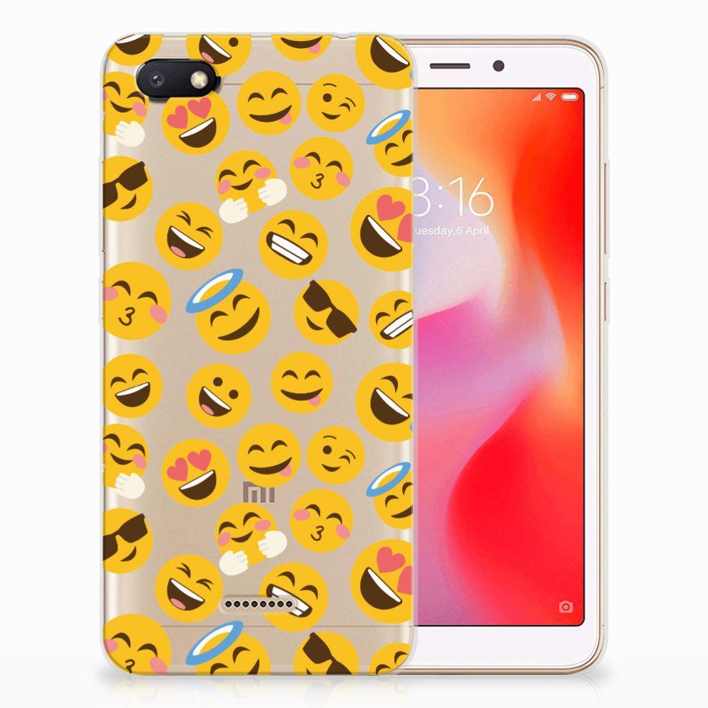 Xiaomi Redmi 6A TPU bumper Emoji
