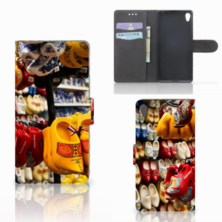 Sony Xperia E5 Flip Cover Klompen