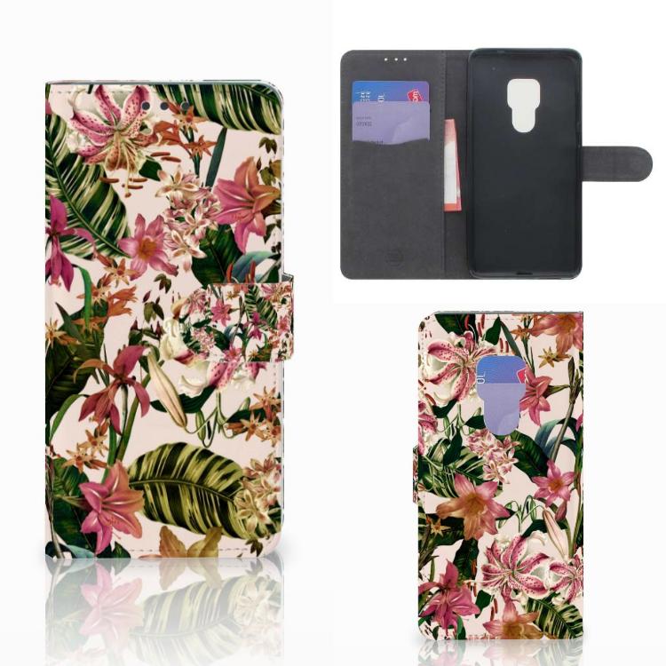 Huawei Mate 20 Hoesje Flowers