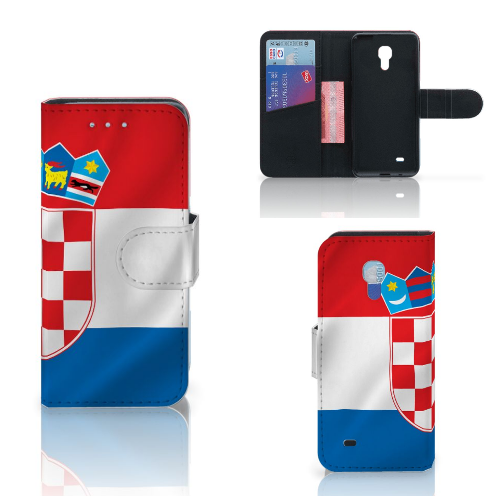 Samsung Galaxy S4 Mini i9190 Bookstyle Case Kroatië