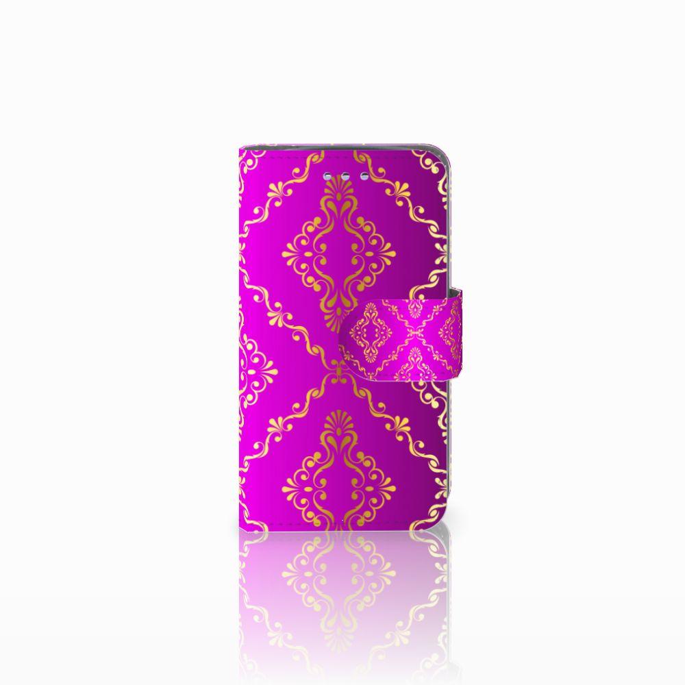 Samsung Galaxy S3 Mini Uniek Boekhoesje Barok Roze