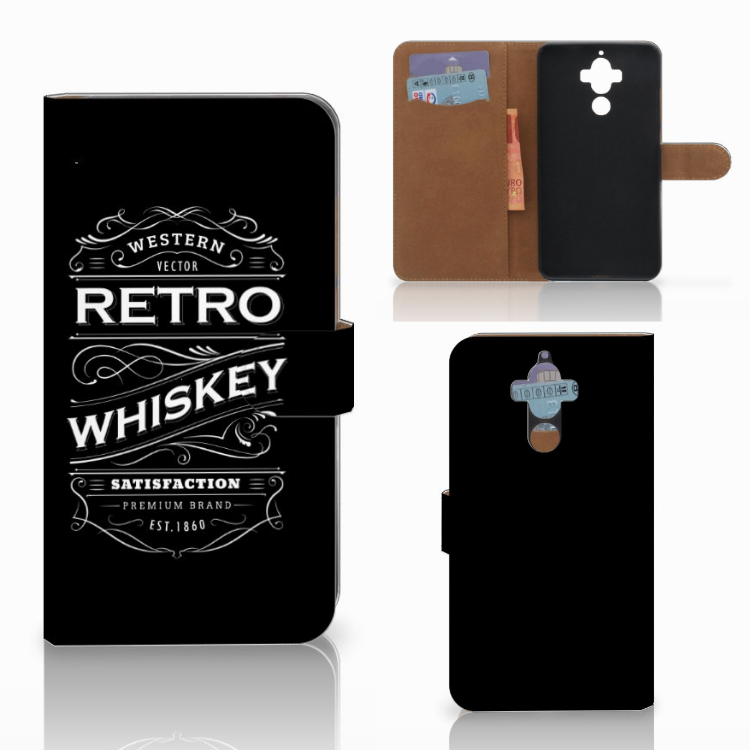 Huawei Mate 9 Book Cover Whiskey