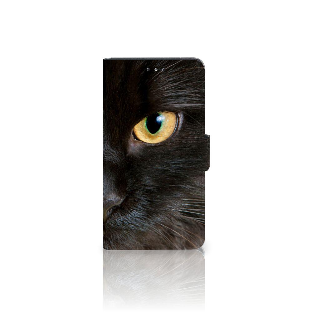 Nokia 6 (2018) Uniek Boekhoesje Zwarte Kat