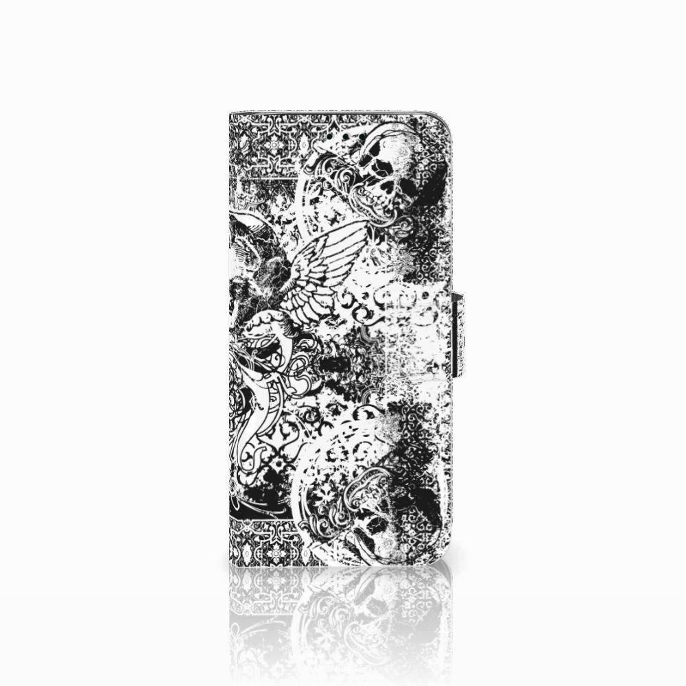 Samsung Galaxy J6 2018 Boekhoesje Design Skulls Angel