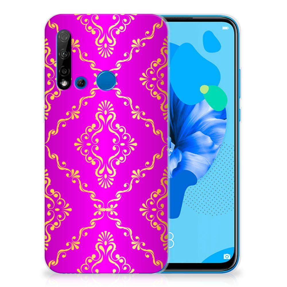 Siliconen Hoesje Huawei P20 Lite (2019) Barok Roze