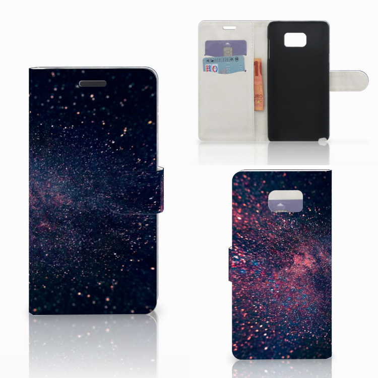 Samsung Galaxy Note 5 Bookcase Stars