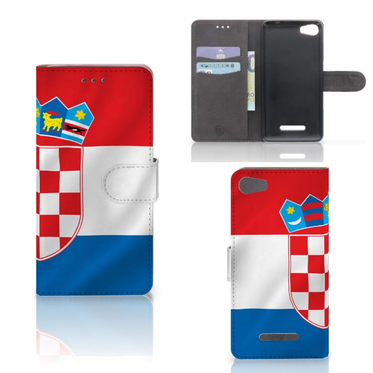 Wiko Lenny 2 Bookstyle Case Kroatië