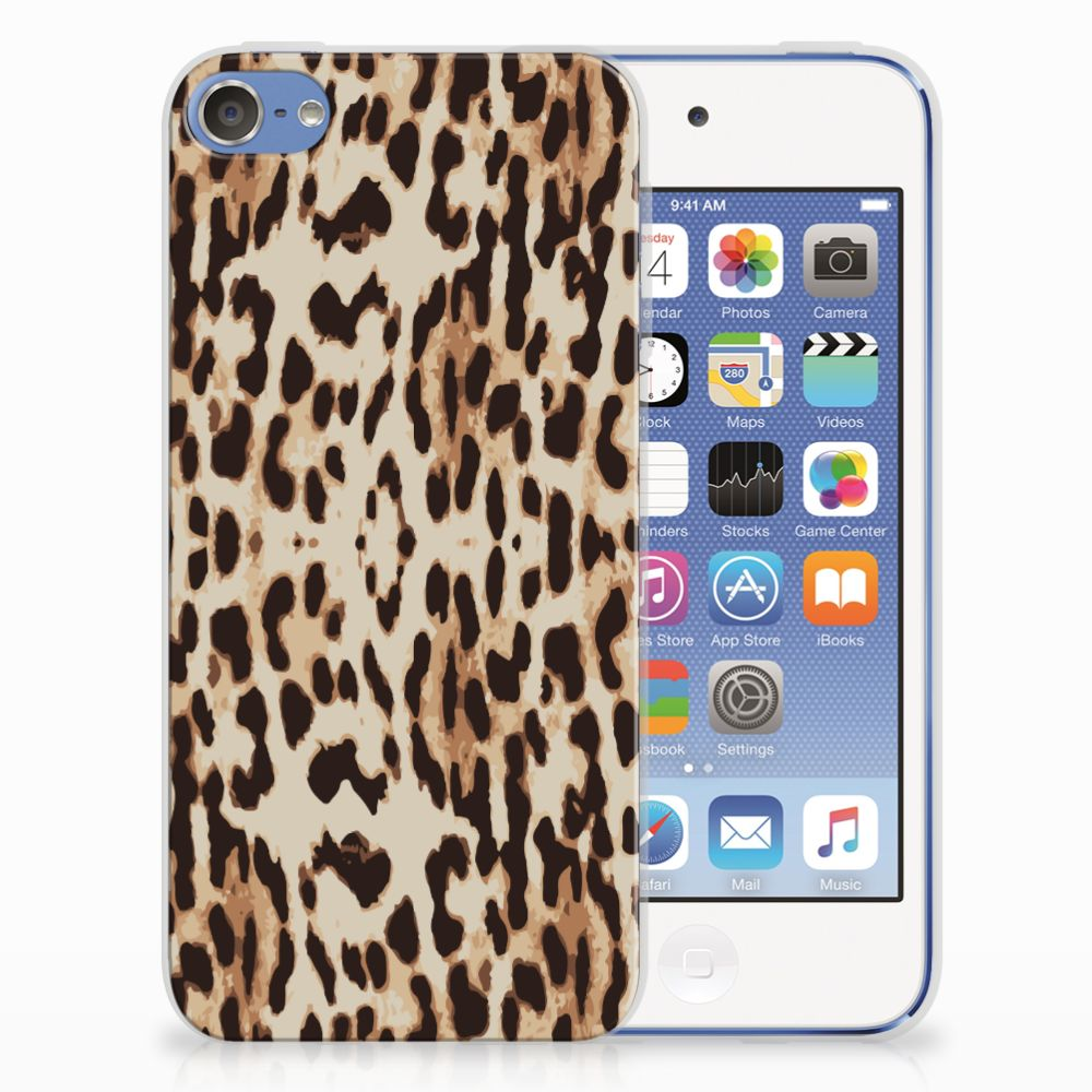 Apple iPod Touch 5 | 6 Uniek TPU Hoesje Leopard
