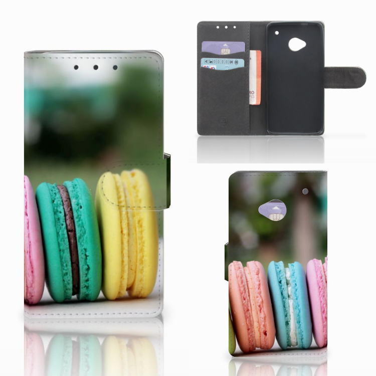HTC One M7 Book Cover Macarons