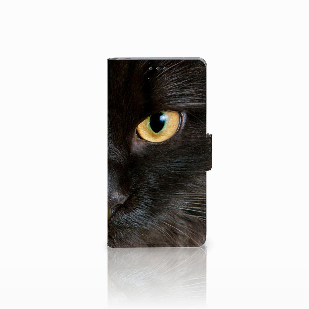 Sony Xperia Z Uniek Boekhoesje Zwarte Kat