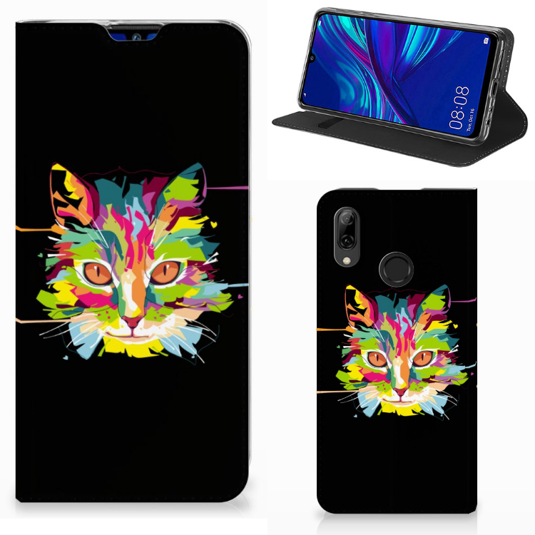 Huawei P Smart (2019) Magnet Case Cat Color