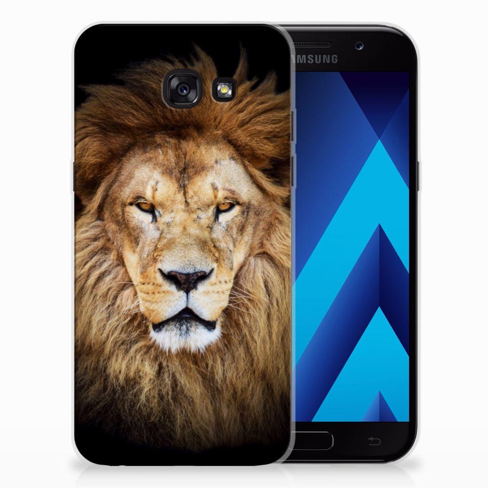 Samsung Galaxy A5 2017 TPU Hoesje Leeuw