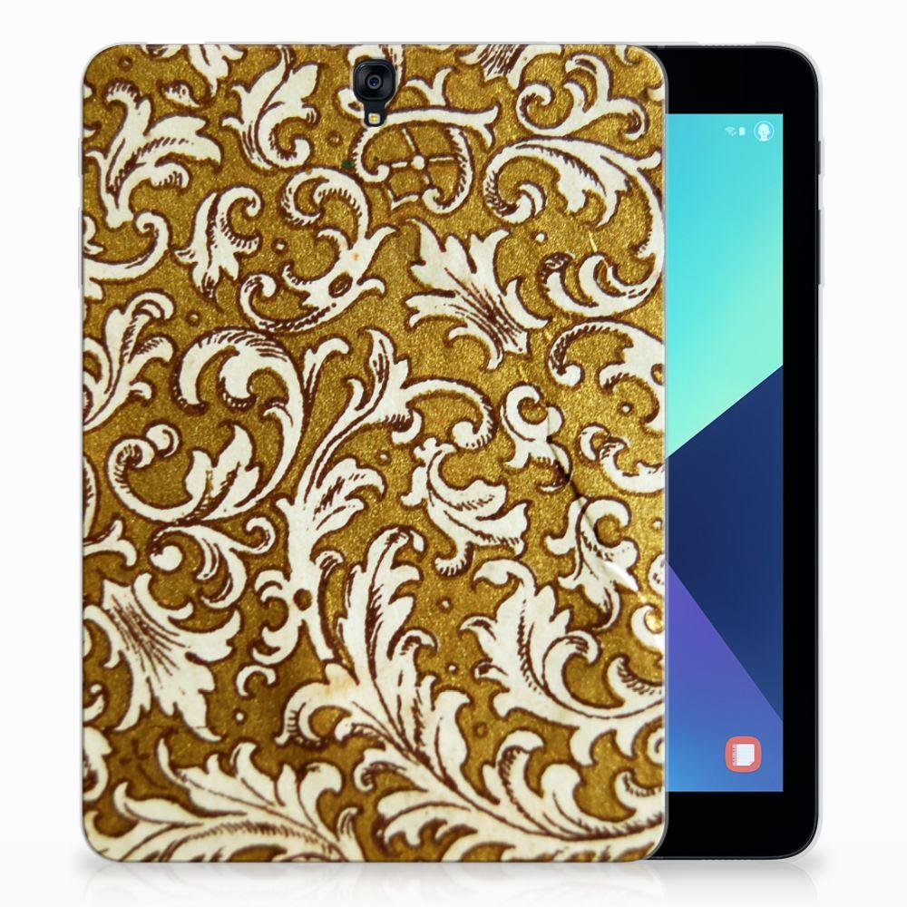 Samsung Galaxy Tab S3 9.7 Tablethoesje Design Barok Goud