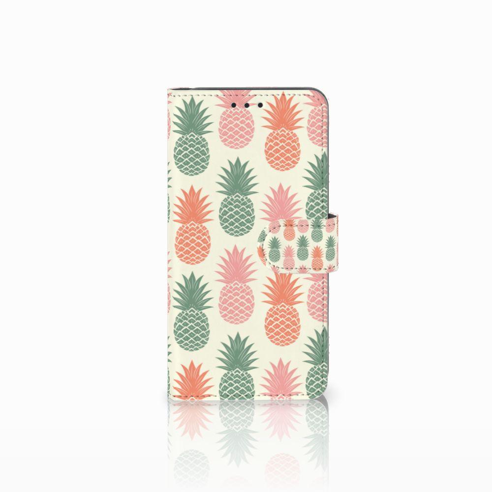 Samsung Galaxy A8 2018 Boekhoesje Design Ananas