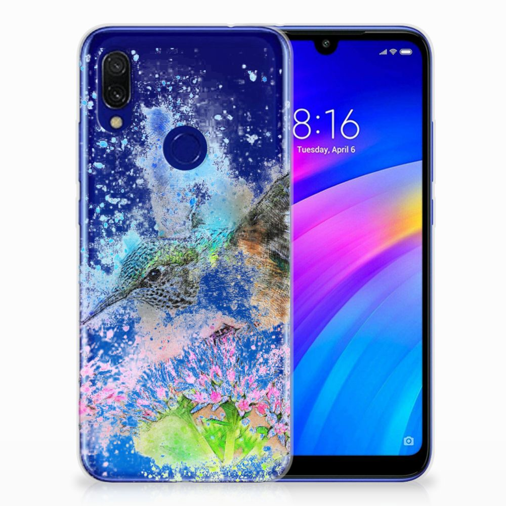 Hoesje maken Xiaomi Redmi 7 Vogel