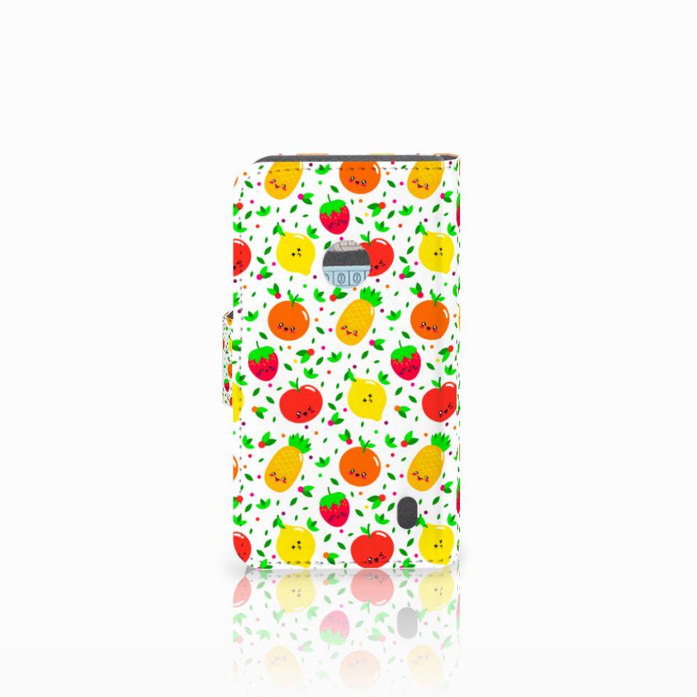Nokia Lumia 520 Book Cover Fruits