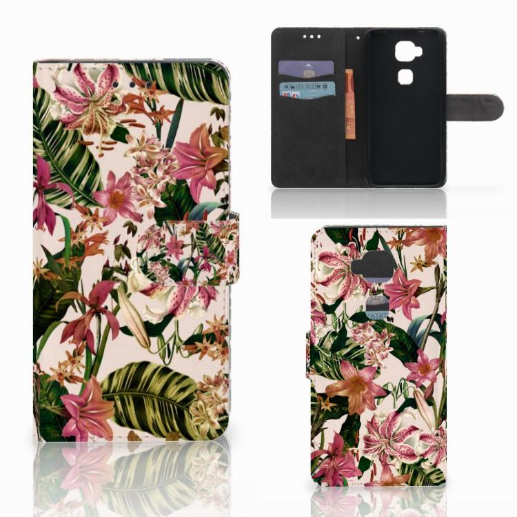 Huawei G8 Hoesje Flowers