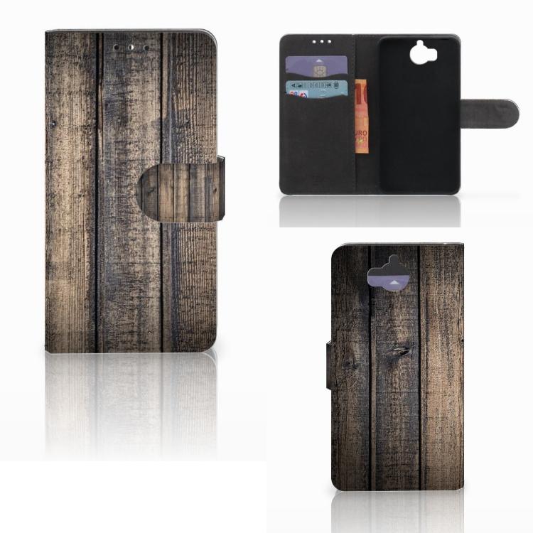 Huawei Y5 | Y6 2017 Book Style Case Steigerhout