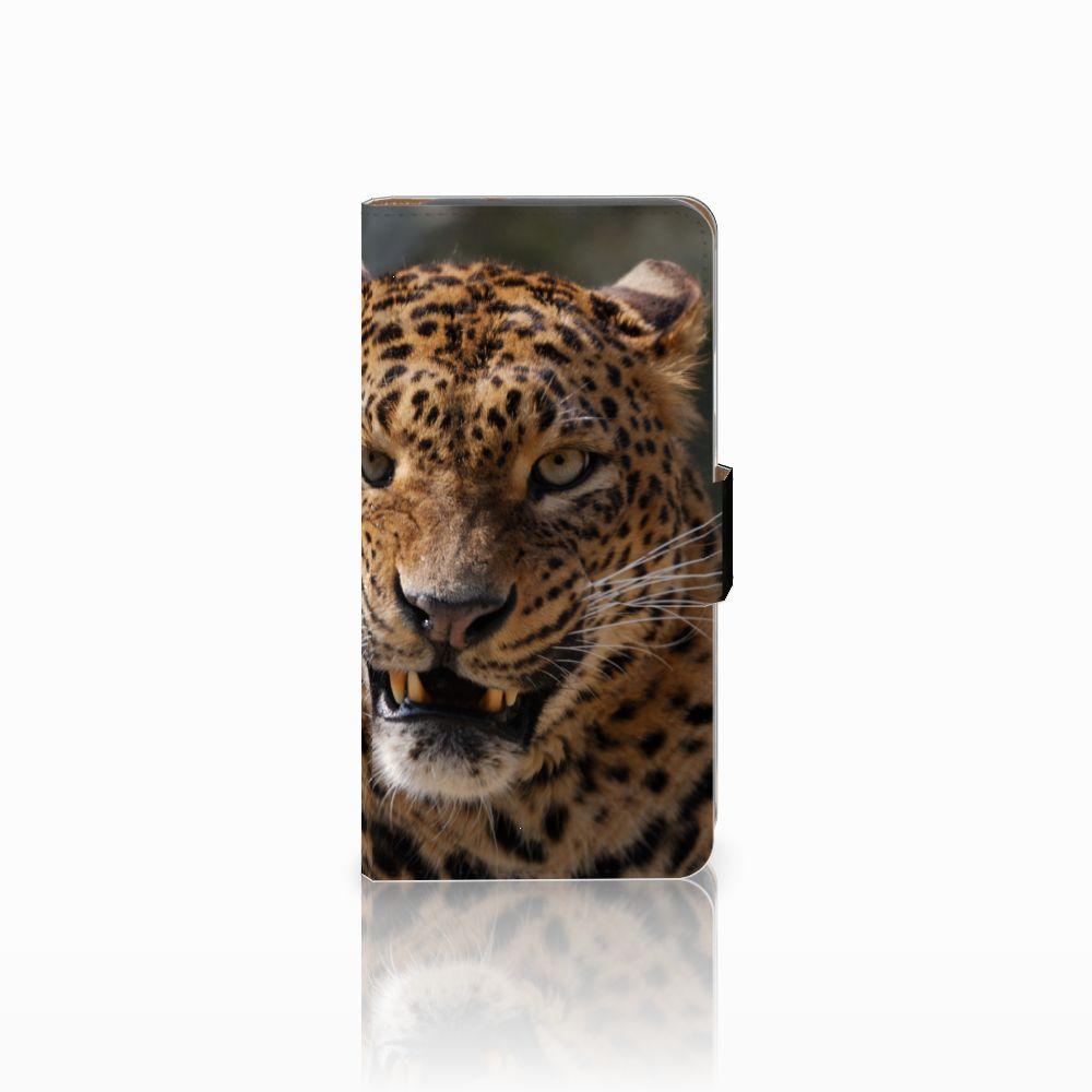Google Pixel Telefoonhoesje met Pasjes Luipaard