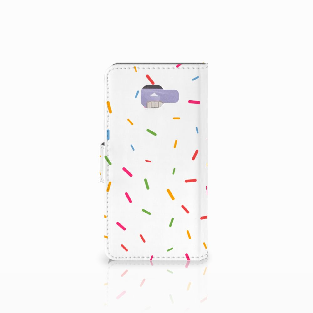 Samsung Galaxy A3 2016 Book Cover Donut Roze