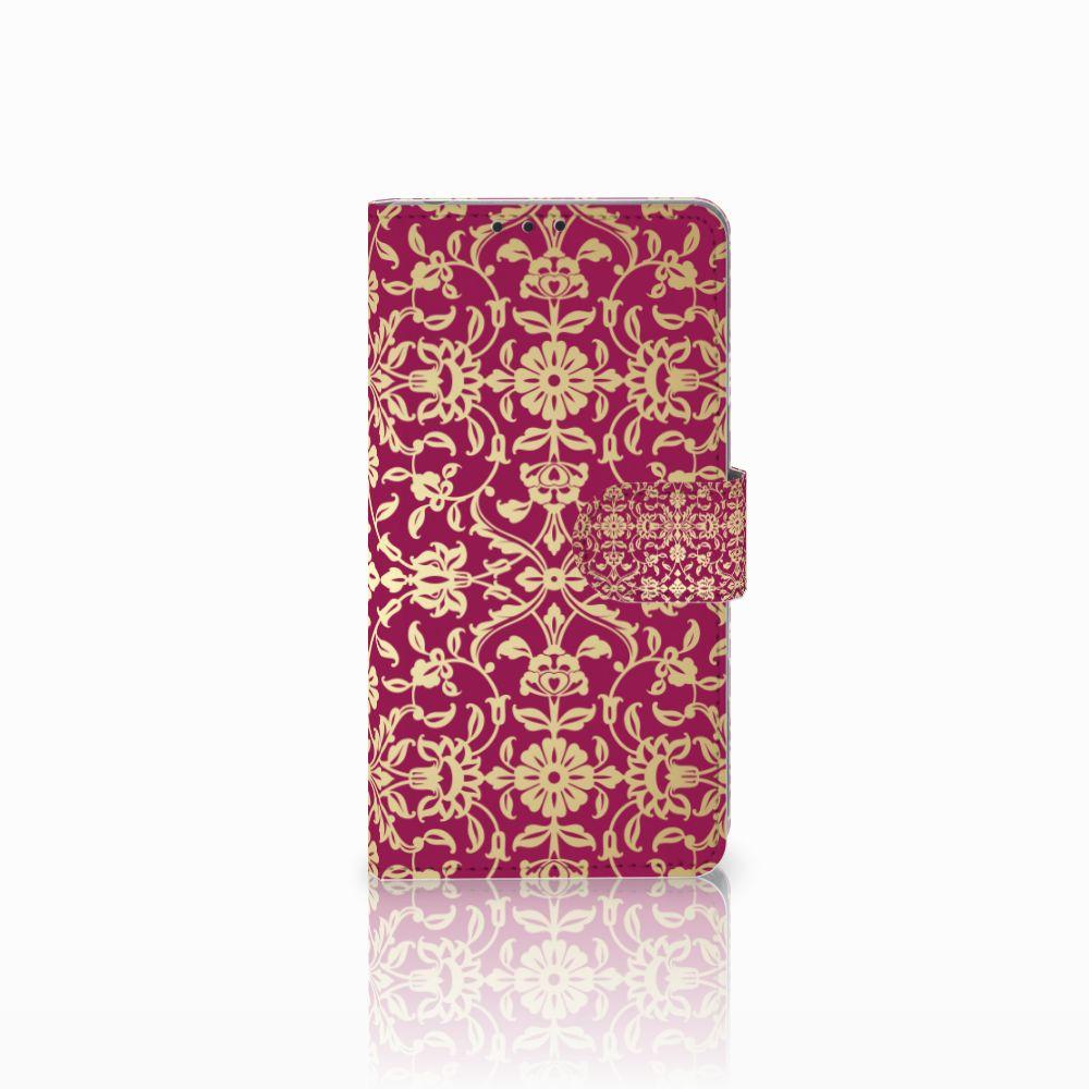 Sony Xperia Z1 Boekhoesje Design Barok Pink