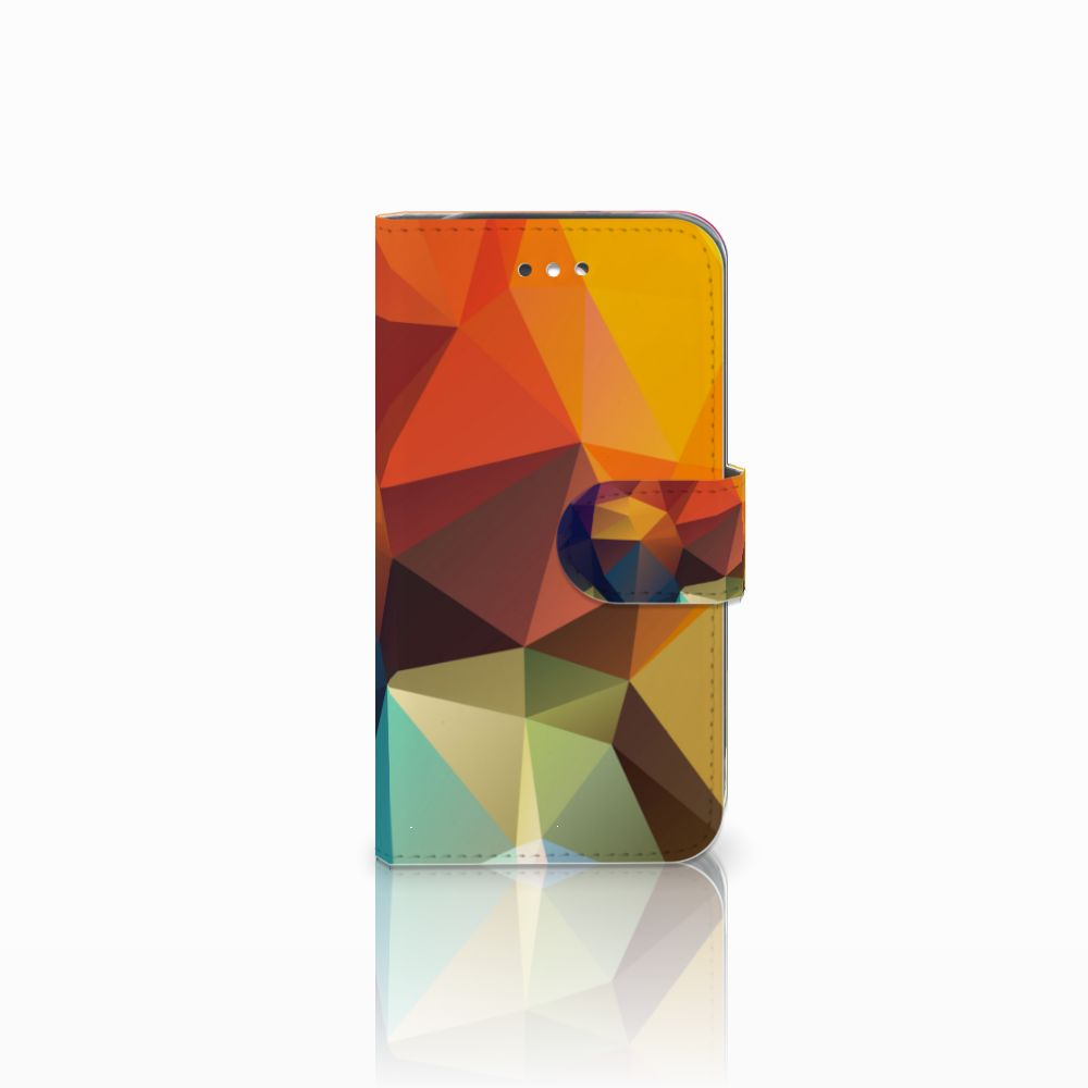 Samsung Galaxy S4 Bookcase Polygon Color
